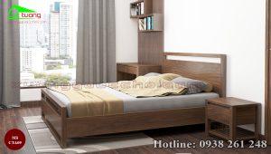 táp đầu giường gỗ óc chó CTA09b