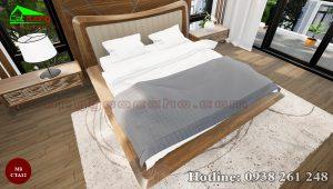 táp đầu giường gỗ óc chó CTA12b