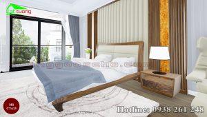 táp đầu giường gỗ óc chó CTA13